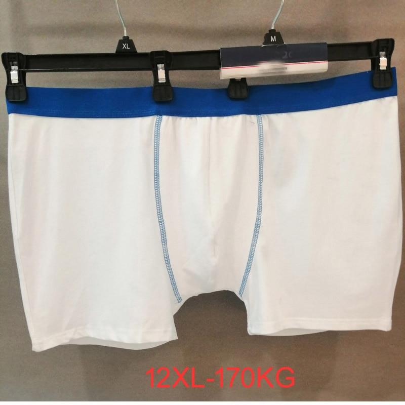 Plus size men's mens boxer Cotton underwear fat guy underwear loose under pants men's boxers  10XL 12XL men underwear