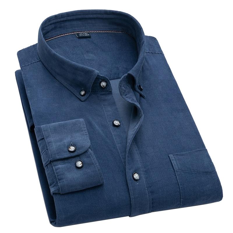 Рубашки с длинным рукавом черная рубашка мужская рубашка Рубашка Aoliwen Мужская Фланелевая с длинным рукавом, 2021 хлопок, однотонная