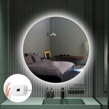 Miroir de maquillage pour vanité USB 5V, bande lumineuse Flexible, LED bandes, balayage de main, capteur de mouvement pour miroir de coiffeuse, rétro-éclairage