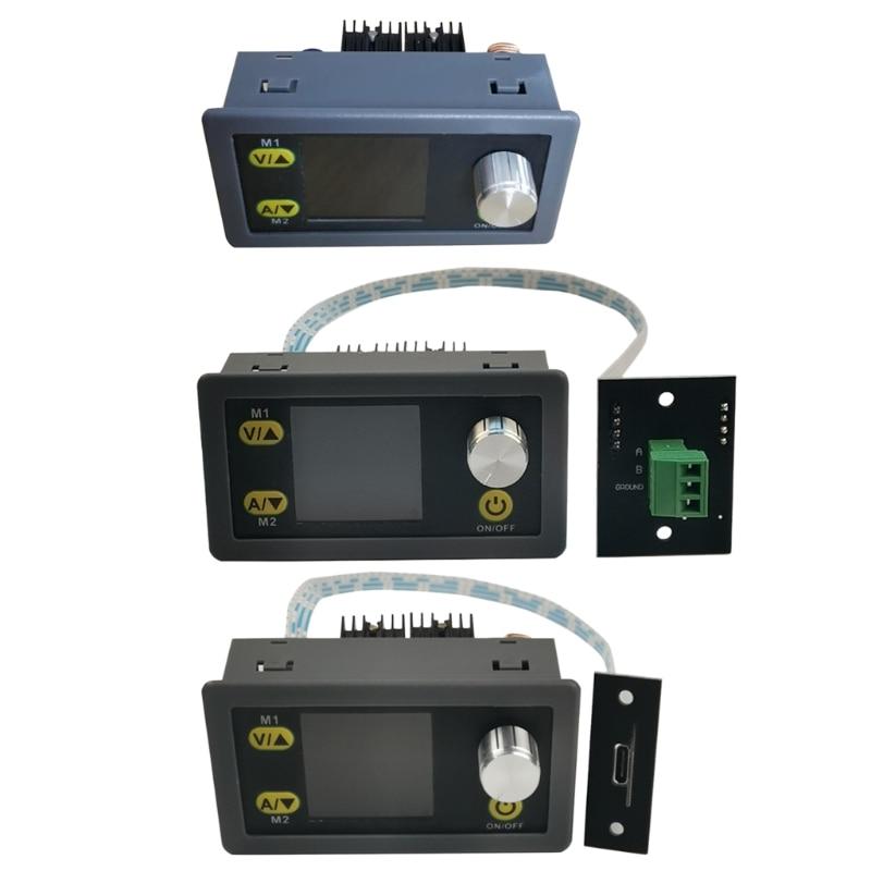 E7CC DC-DC-محول فرق الجهد CC CV 50 فولت 5A وحدة الطاقة قابل للتعديل ينظم مختبر امدادات الطاقة الفولتميتر USB RS485
