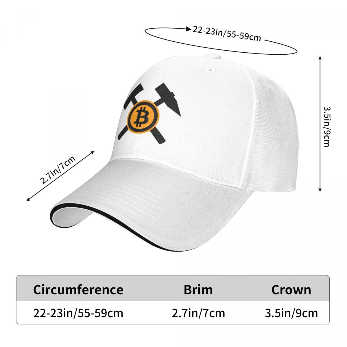 Биткоин крипто-Майнер крипто-рыболовные шляпы солнце забавная мужская женская мужская шляпа