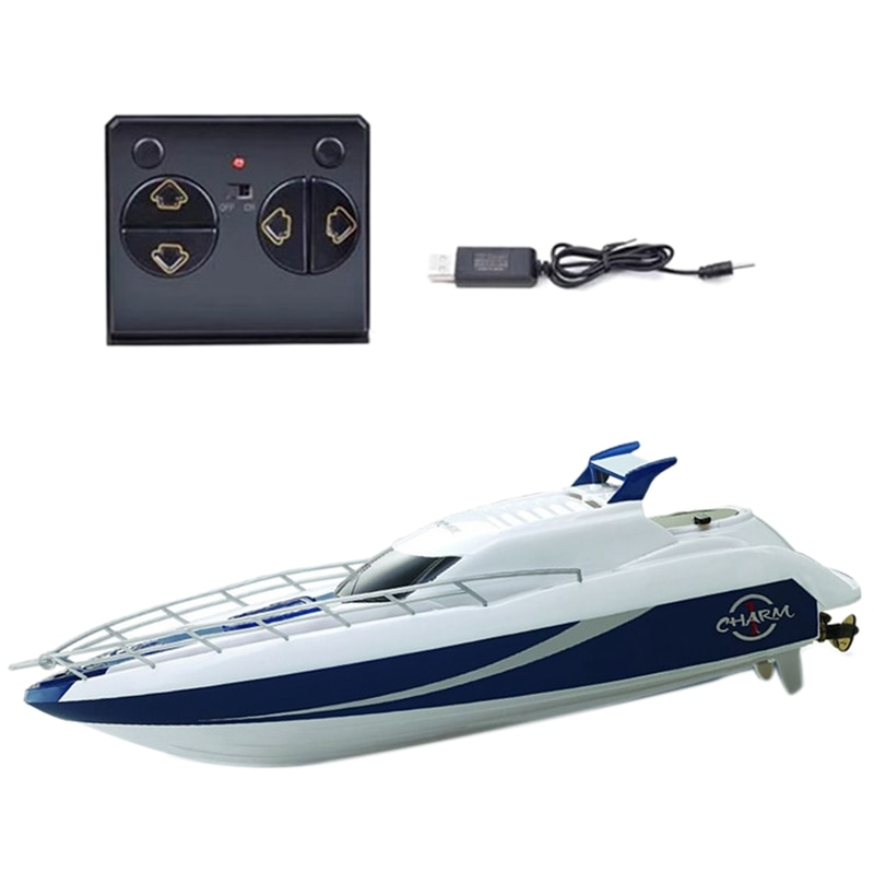 4CH 2.4G RC Speed Boat Super Electric Racing RC Boat Ship Remote Control High Speed Kids Child Toys