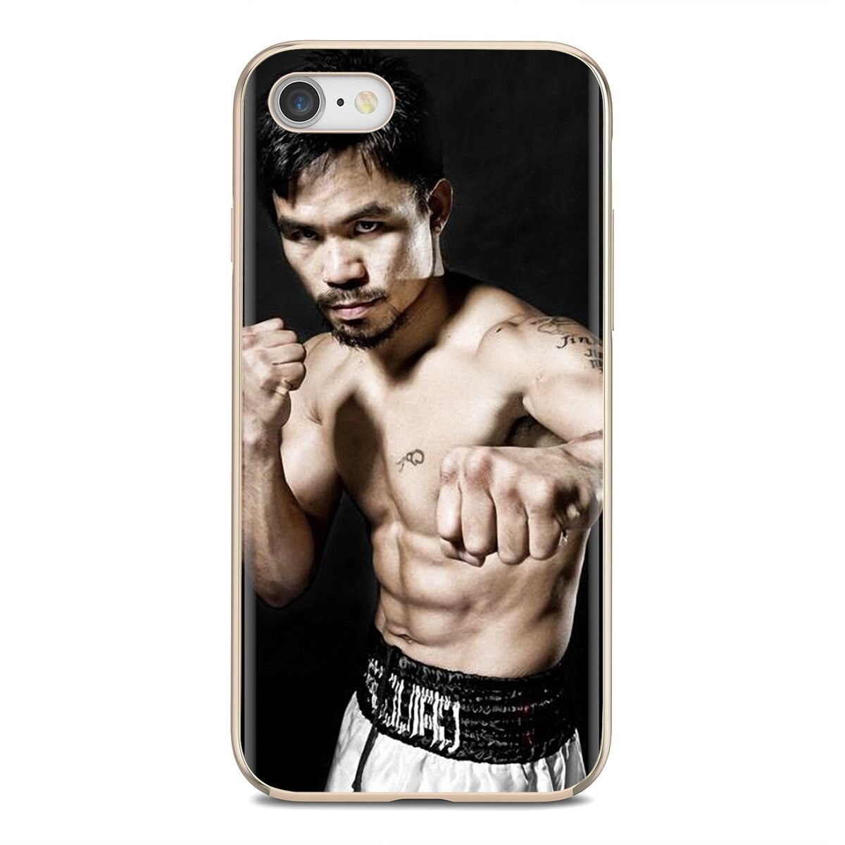 Manny Pacquiao Pinoy Pacman de boxeo para Samsung Galaxy nota 2 3 4 5 8 9 S2 S3 S4 S5 Mini S6 S7 borde S8 S9 Plus cubierta suave