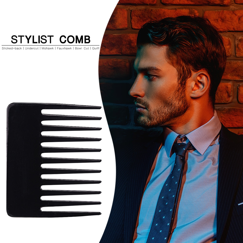 Large Wide Tooth Hairdressing Styling Brush Oil Back Head Hair Comb Portable Men Hair Brushes Girls
