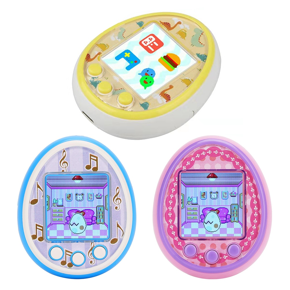 Tamagotchis Funny Kids Electronic Pets Toys Nostalgic Pet In One Virtual Cyber Pet Interactive Toy D