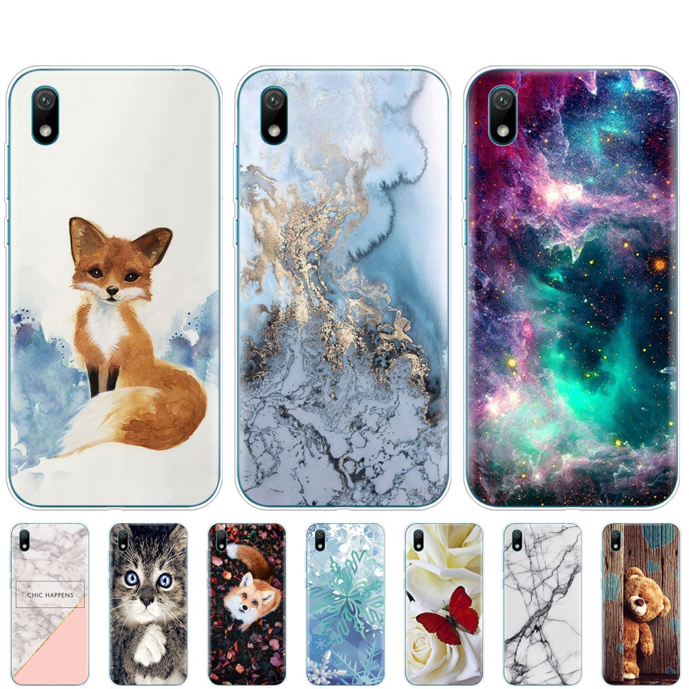Funda para Huawei y5 2019, funda de silicona, funda de teléfono blanda para Huawei Y5 2019, carcasa de parachoques pintada de 5,71 pulgadas