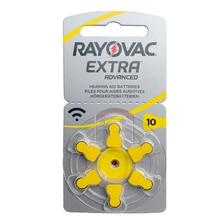 Laifa RAYOVAC EXTRA Zinc Air 60 PCS Performance Hearing Aid Batteries A10 10A 10 PR70 Hearing Aid Ba