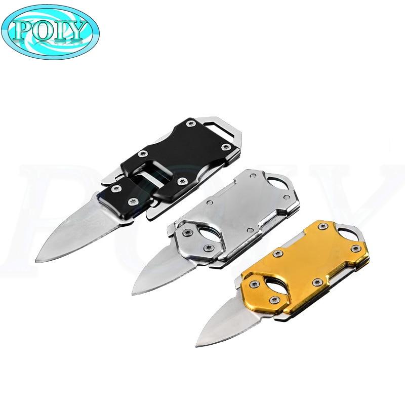 Acampar al aire libre supervivencia Multi funcional transformador cuchillo EDC tácticas con paquete cuchillo defensa Dropshippping