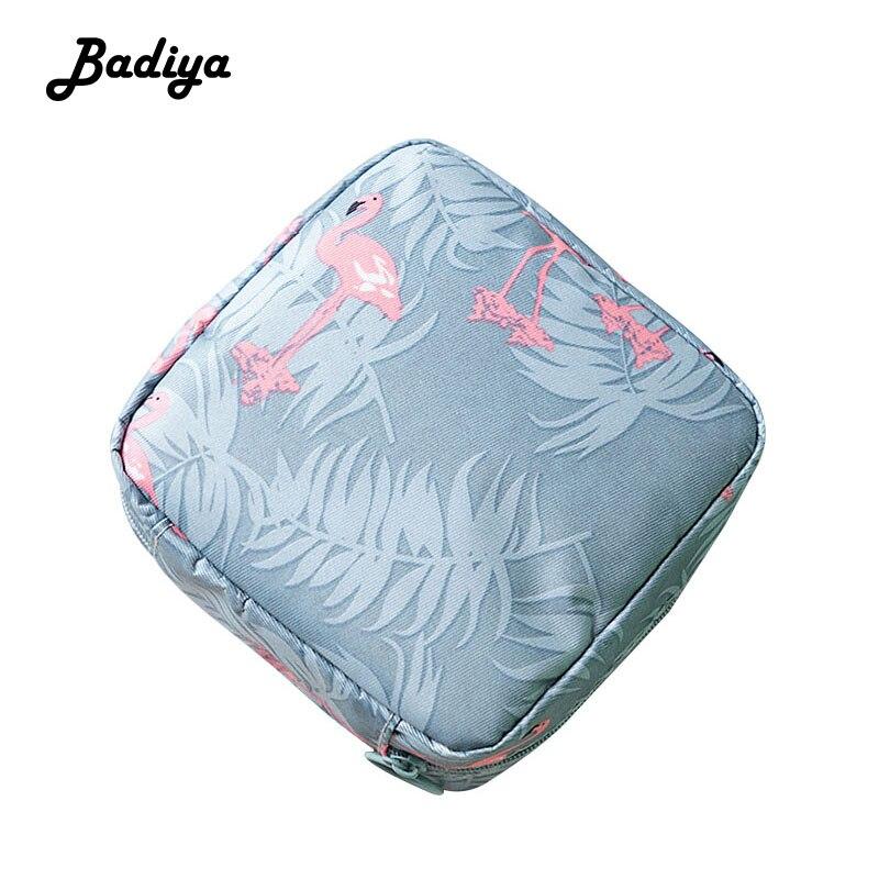 Mini bolsa de cosméticos para mujer bolsa de almacenamiento de toalla de viaje con impresión de bolsas de maquillaje de belleza organizador de cosméticos bolsa de maquillaje con cremallera