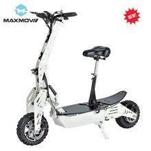 2019 Scooter électrique populaire de moteur de moyeu arrière de 1000W avec la puissance et les lumières de batterie au Lithium 12Ah