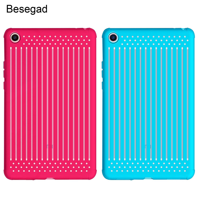 Funda protectora Besegad ultrafina de TPU suave para tableta, funda protectora para Xiaomi Xiao mi Pad 4 2018 8 pulgadas