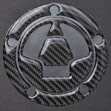 3D углеродное волокно бак газа крышка наполнителя крышка наклейки подходят для KAWASAKI ZX-6R/10R/12R/14R Z1000 Z1000SX Z800 Z750