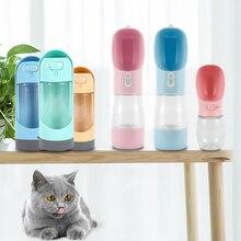 Bouteilles deau pour animaux de compagnie en plein air portables pour petits grands chiens voyage chiot chat mangeoires bols à boire animaux bouteilles deau livraison directe