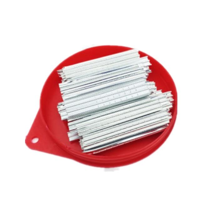 100 Stks/doos Tin Folie Gereedschap 0.05Mm 0.06Mm Gebruikt Key Slotenmaker Tool Met Hoge Kwaliteit