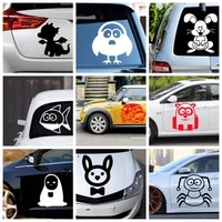 car styling animal stickers car funny decal car window decoration vinyl stickers motorcycle accessories