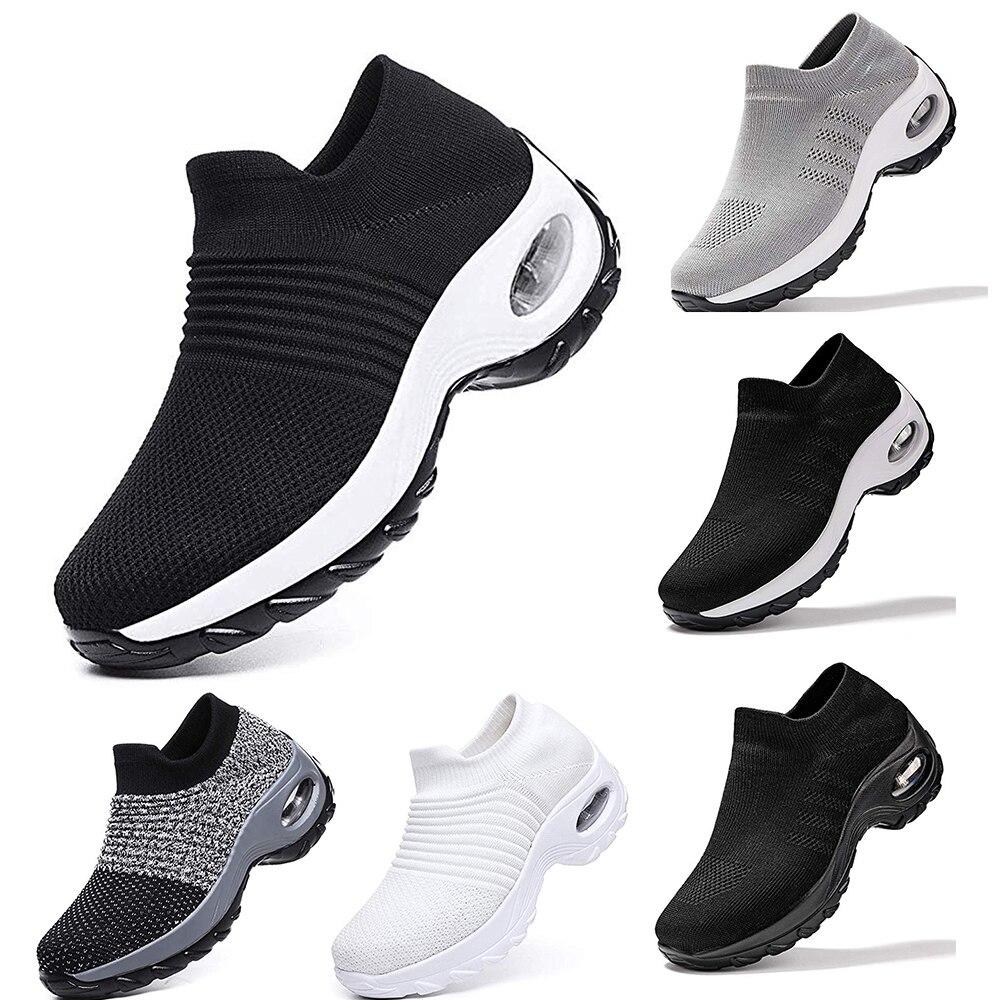 Сетчатые женские и мужские кроссовки для бега на открытом воздухе, парные дышащие мягкие кроссовки для легкой атлетики и бега