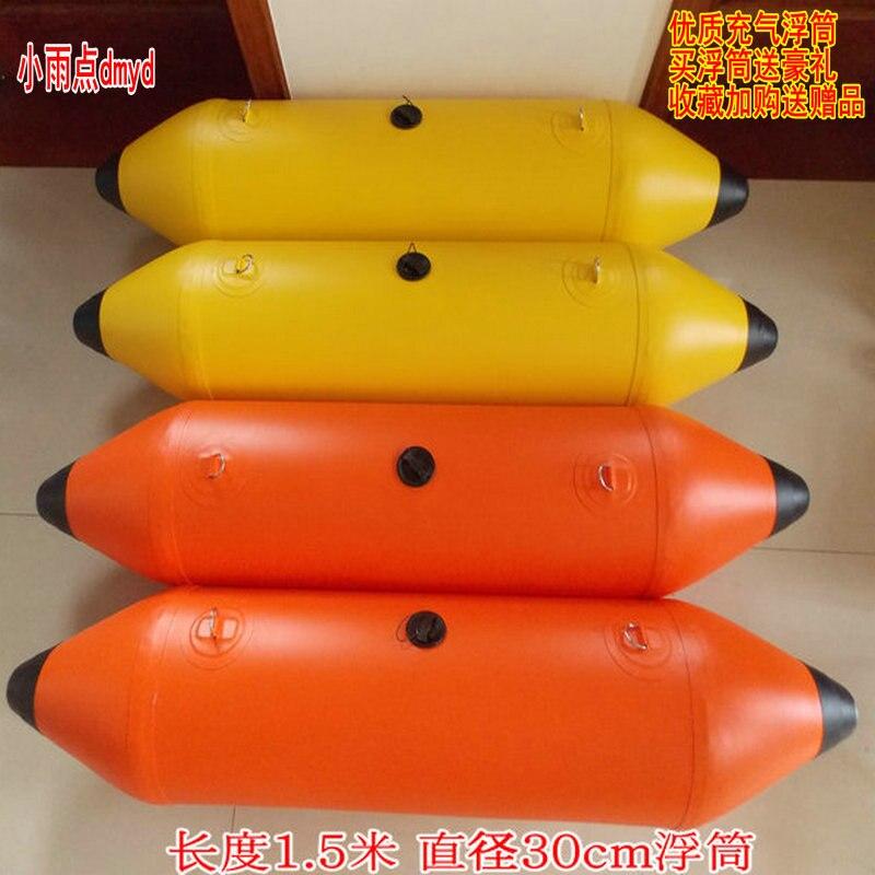 Lifebuoy لصيد الأسماك قارب نفخ وسادة كيس الهواء دراجة مائية منصة منصة الصيد العوامة