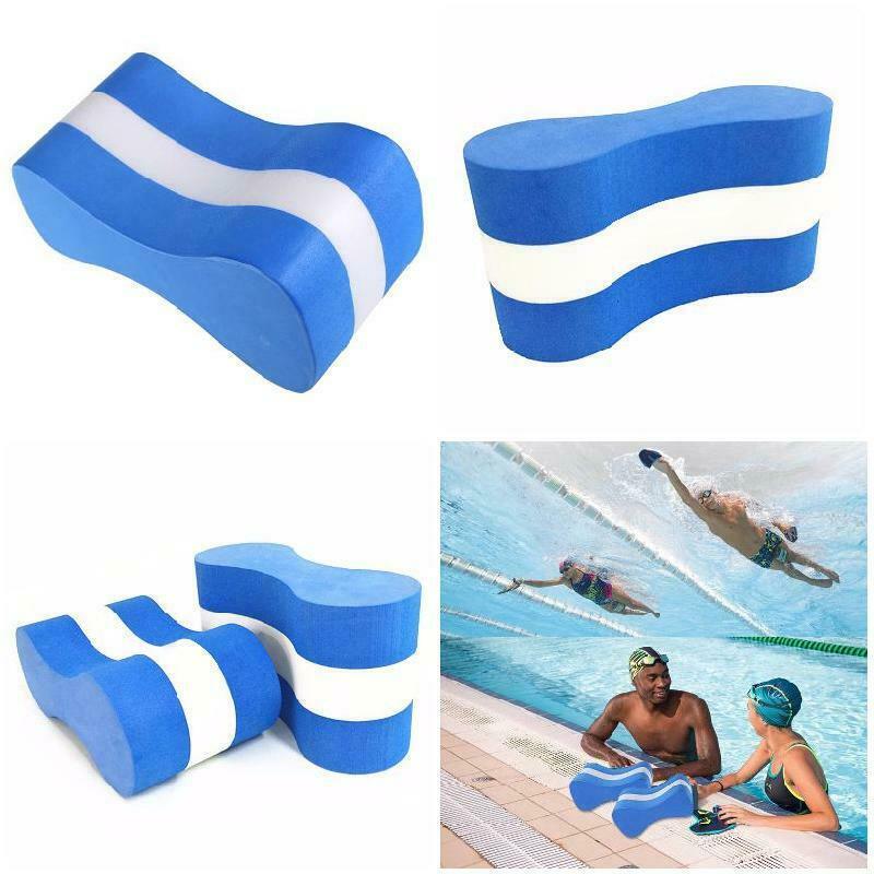 1pc Summer Waterproof Foam Pull Buoy Float Kick Board Kids Adults Pool Swimming Safety Training Aid Anti-vibration Soundproof