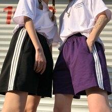 Spring and Summer Korean Style in Harajuku BF Classic Three Bars Versatile Shorts Loose Student Spor