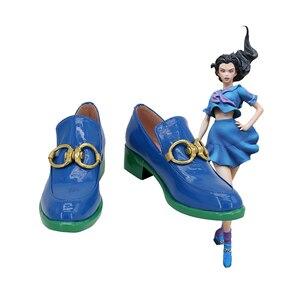JoJo's Bizarre Adventure Yamagishi Yukako Cosplay PU Shoes Boots Custom Made Any Size For Girls