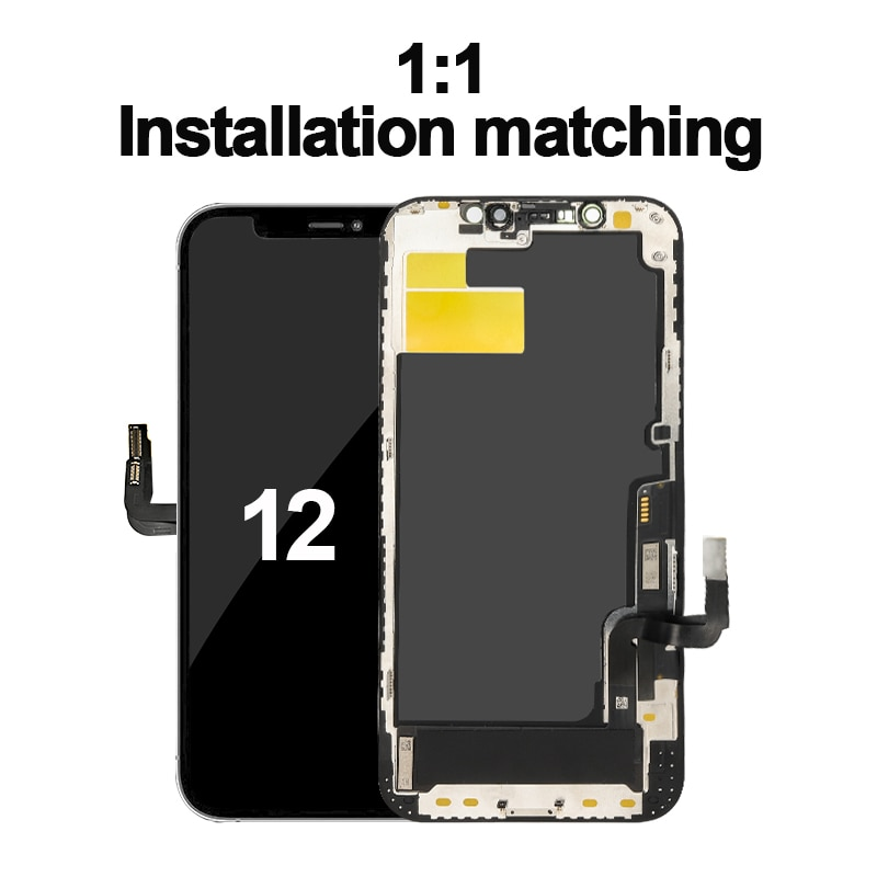 OEM Quality Pantalla OLED LCD Display For iPhone X XS 11 Pro LCD Display Touch Screen Digitizer Assembly For iPhoneX 11 XSMax 12 enlarge