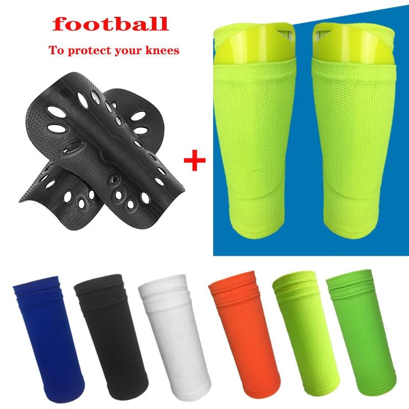 Комплект носков для защиты ног, вставка для футбола, защита голени для взрослых и молодежи, детская спортивная защита, защитное оборудовани...