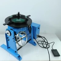 50kg girth automatic hd 50 hd50 welding positioner welding turntable with wp200 chuck