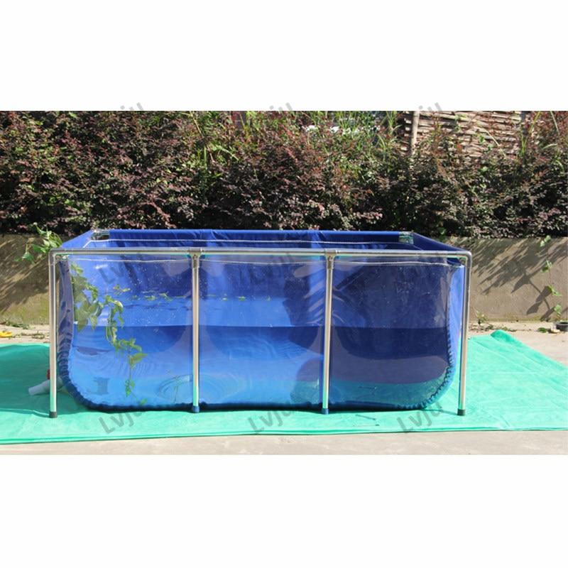 Lvju حوض للأسماك خزان 111 جالون 420 لتر 100*120*35 سنتيمتر حوض للأسماك بيتا