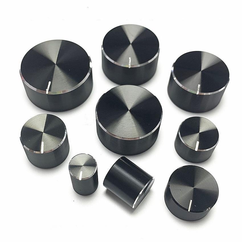 Potentiometer Knopf Kappe Encoder Volumen Drehknopf Audio Knob für Rotary Taper Potentiometer Loch 6mm Knob
