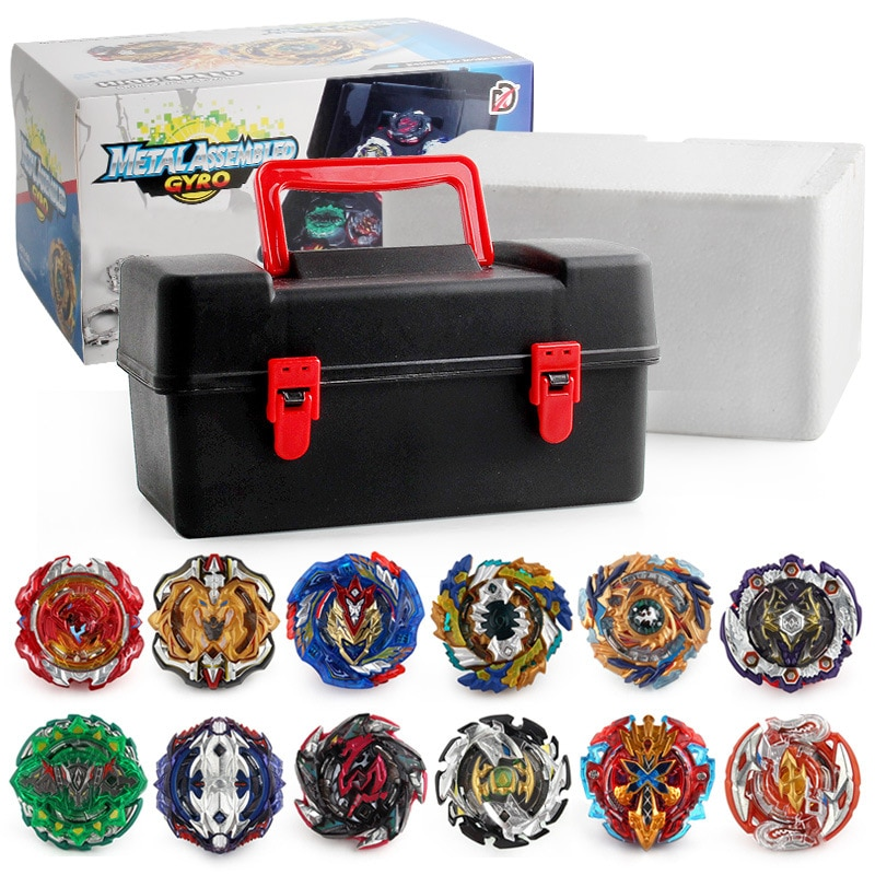 XD168-21 Tops  Burst Set Toys Alloy Metal Fidget Spinner Metal Bearing  Fighting Gyro with Launcher  Toolbox Stress Relief  Toys enlarge