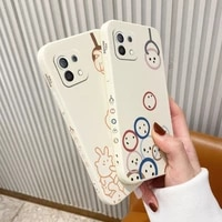 lucky doll pattern phone case for xiaomi mi 11 10t 10 lite 9t note 10 redmi note 9 9t 8 8pro 7 7pro 9 9a k30 k20 cover