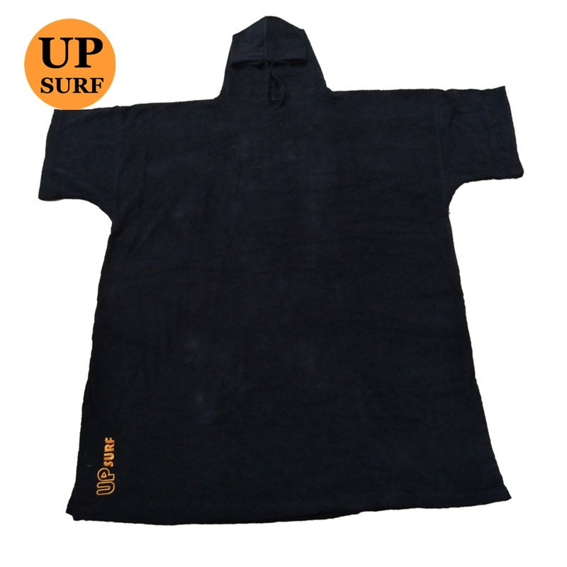 surf poncho Wetsuit Changing Robe Poncho with hood for Swim, Beach sports 320GSM terry cloth 100% cotton oversize adult недорого