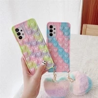 pop push case for samsung galaxy s21 s20 plus note 9 10 20 ultra a10e a11 a12 a20 a30 a50 a21 a31 a51 a71 a32 a01 bubble cover