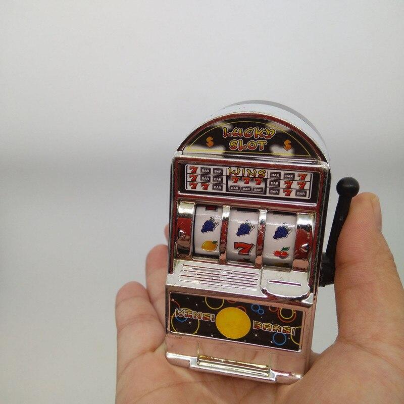 1 pièces chanceux Jackpot Mini Machine à sous pour fruits amusant cadeau danniversaire enfants jouet éducatif divertissement jeux à pièces
