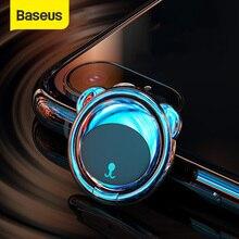 Baseus المعادن البنصر حامل آيفون سامسونج الهاتف المحمول حلقة 360 درجة جبل حامل حامل ل حامل هاتف السيارة المغناطيسي
