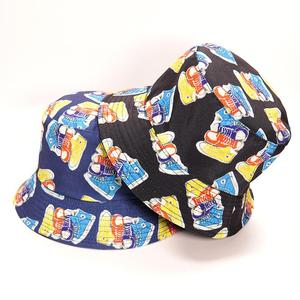 2021 Cotton four seasons Shoes Print Bucket Hat Fisherman Hat Outdoor Hats for Men and Women 426
