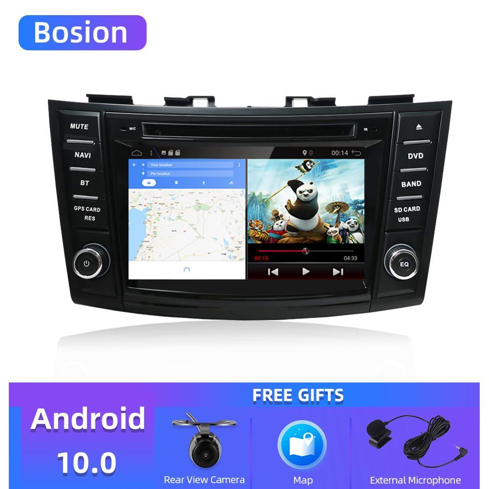 """Bosion автомобильный мультимедийный dvd плеер 7 """"android 10,0 gps для suzuki swift 2011-2015 навигация Стерео Авторадио Видео автомобильное радио GPS"""