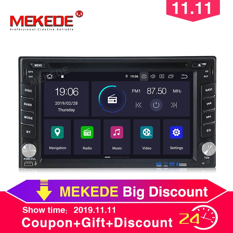 ¡Nuevo! PX5 4GB + 64GB Android 9,0 reproductor multimedia para Nissan Toyota Kia para radio de coche VW navegación gps wifi BT carplay USB navi