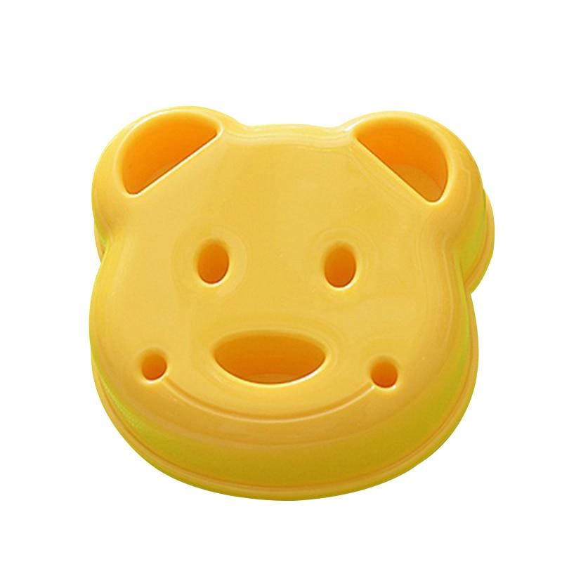 Форма в форме маленького медведя, сэндвич-форма для хлеба, печенья, рельефное устройство, форма для выпечки, сделай сам, форма, резак, кухонны...