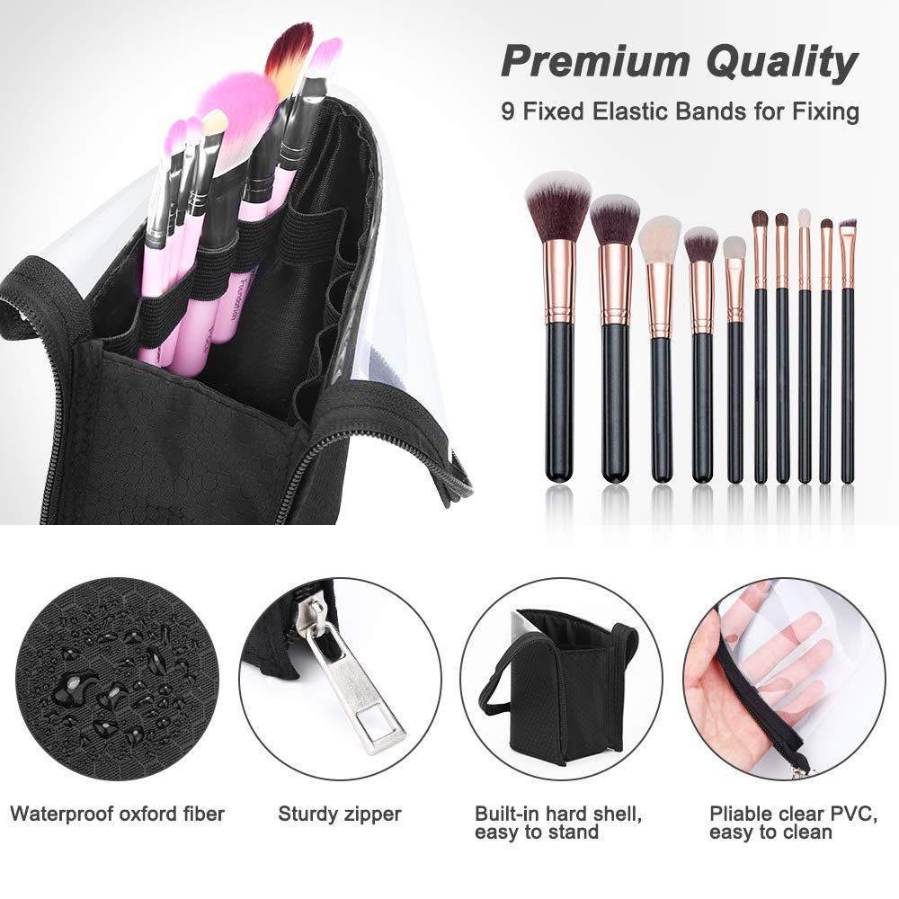 2021  Makeup Brush Holder Dust-proof Waterproof Travel Case for Women Organizer Tools