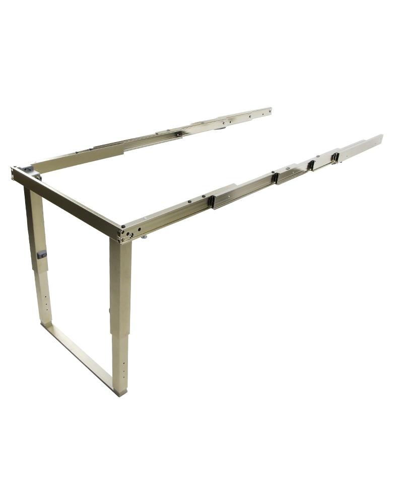 مقاطعة الفضاء المخفية طاولة طعام درج مخفي الجدول السكك الحديدية متعددة أضعاف مكتب الجدول منصة مشروبات الكاميرا المسار الأجهزة