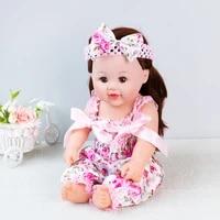 baby doll clothes 22 inch reborn babydoll jumper summer sleeveless dolls romper 0 2y baby girls onesie floral girls jumpsuit