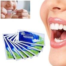 2 шт/кор. отбеливающий сухой зубной пасты, отбеливающий для зуб липкий отбеливающий гель-полоска, Высокоэластичный уход за полостью рта, гигиеническая зубная паста