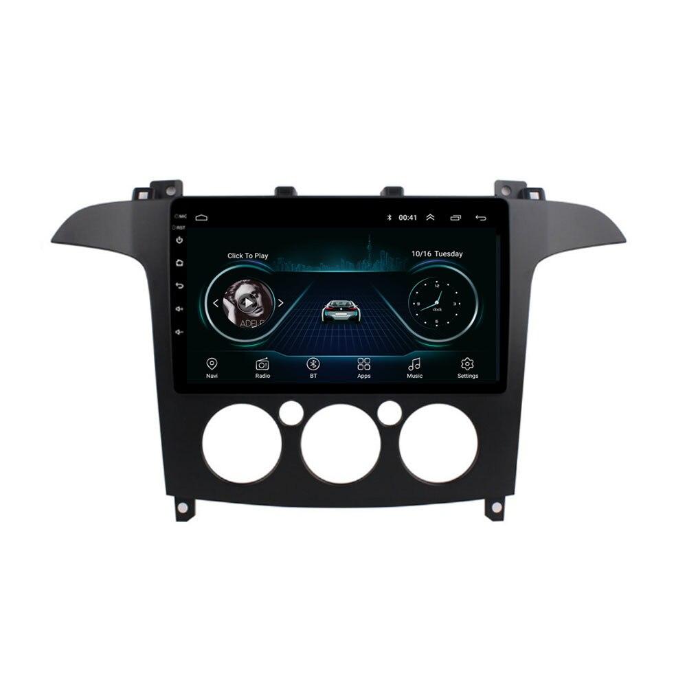 4G LTE Android 10.1 pour Ford s-max S Max Galaxy multimédia stéréo voiture lecteur DVD Navigation GPS Radio
