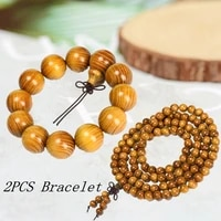 wood string north gold thorn tuo mulberry buddha bead gold bracelet wholesale comparable gold silk nan sandalwood camphor wood