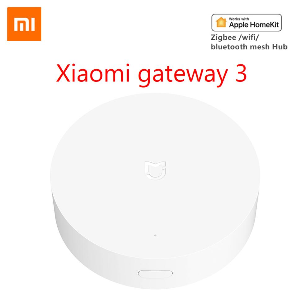 Update Version Xiaomi Mijia Smart Home Multifunctional BLE Gateway 2/3 Alarm System Intelligent Onli