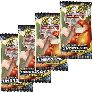 Pokemon Card GX TRAINERS TGA TEAM BREAK 3D Flash Card SWORD&SHIELD Collectible Gift Children Toy