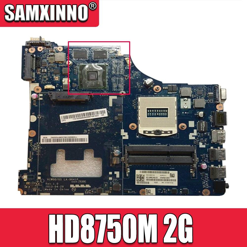 Akemy VIWGQ / GS LA-9641P لينوفو G510 اللوحة الأم PGA947 HM87 GPU HD8750M 2G 100% اختبار العمل وحدة المعالجة المركزية دعم I7