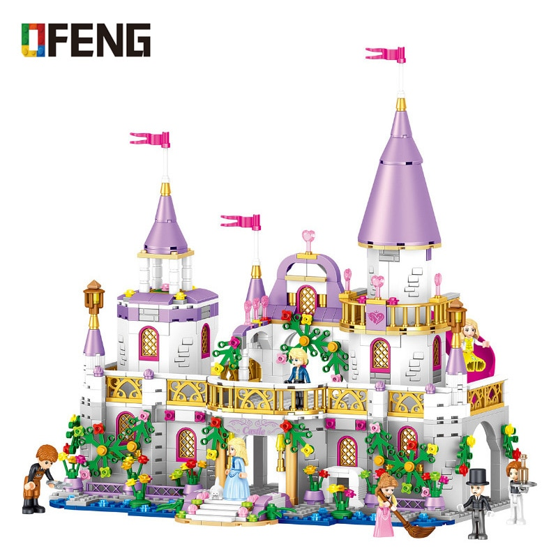 10551 elves ragana s magic shadow castle model building blocks bricks toys girls toys compatible with lego gift kid set girls Girls Friends QL1106 Building Blocks Princess Windsor Castle Compatible Bricks Toys for Girl Christmas Gift