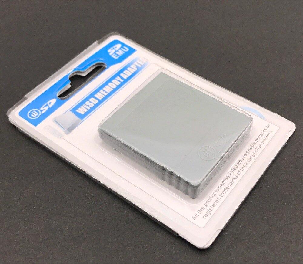 Adaptador para Nintendo Wii NG GC GameCube, lector de tarjeta Flash SD,...